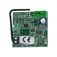 Радиоприемник 1-канальный встраиваемый в разъем RP 433 МГц